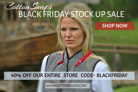 BLACK FRIDAY SALE COTTONSNAPS 40% OFF