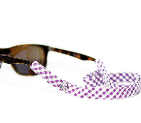 Purple Gingham - CottonSnaps