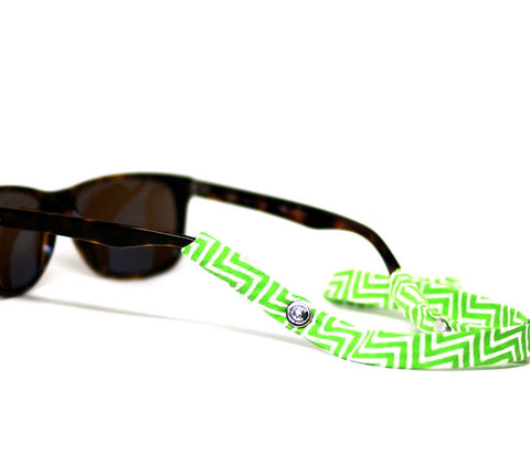 Green Chevron - CottonSnaps