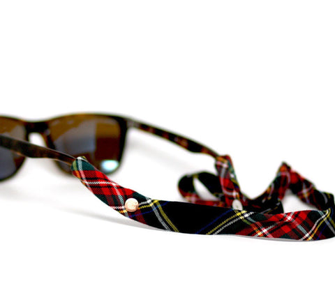 Black-Red Plaid - CottonSnaps