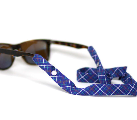 Navy Plaid - CottonSnaps