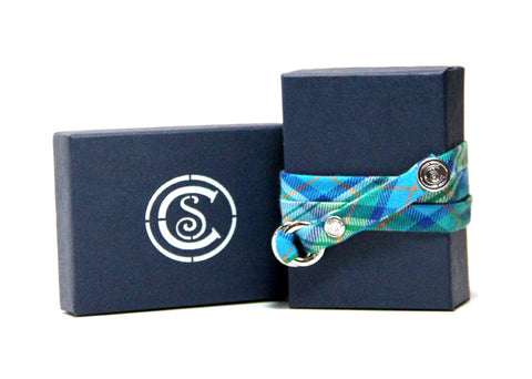 Green Blue Plaid - CottonSnaps