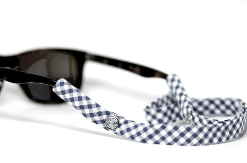 Navy Blue Gingham - CottonSnaps