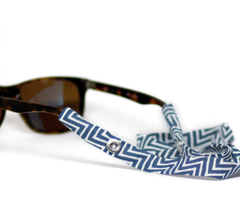Navy Chevron - CottonSnaps - 1
