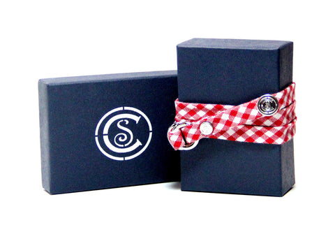 Red Gingham - CottonSnaps