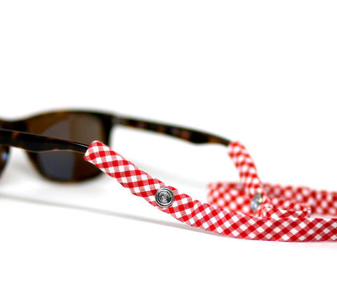 Razorback Red Gingham - CottonSnaps - 1