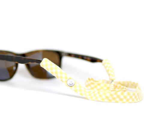 Yellow Gingham - CottonSnaps