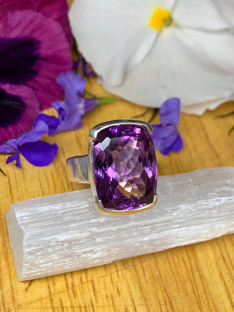 Amethyst Ring- Size 7