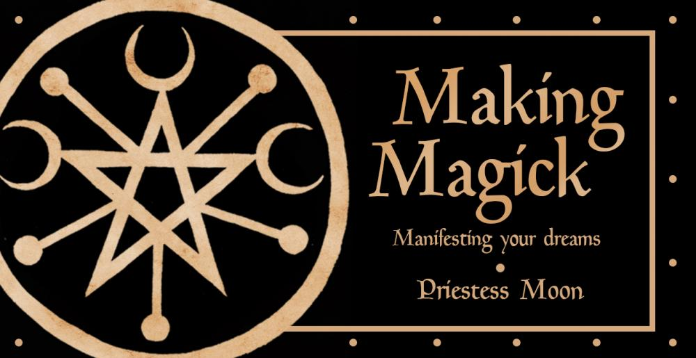 Making Magick Mini Cards - Manifesting your Dream
