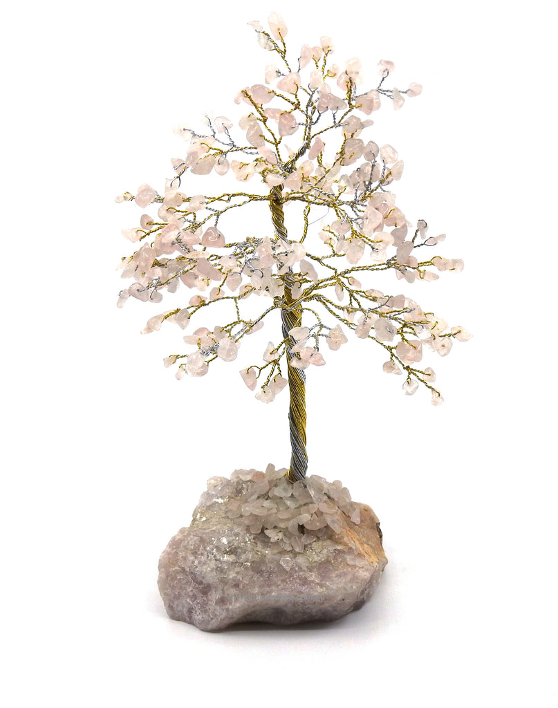Rose Quartz Crystal Tree - Love & Peace Inspired By 3 Australia