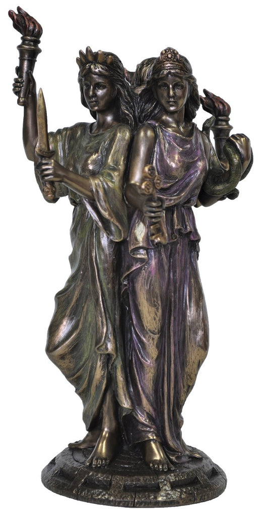 Hecate Statue - Goddess of the Crossroads, Magic & Sorcery.