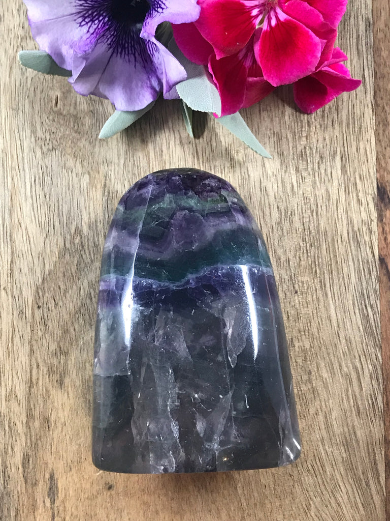 Rainbow Fluorite Freeform 441g - Health. Vitality. Pain Management.