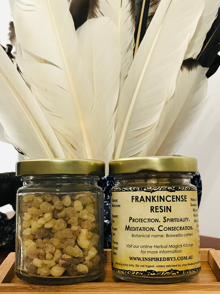 Frankincense Resin 50g - Protection. Meditation. Spirituality.