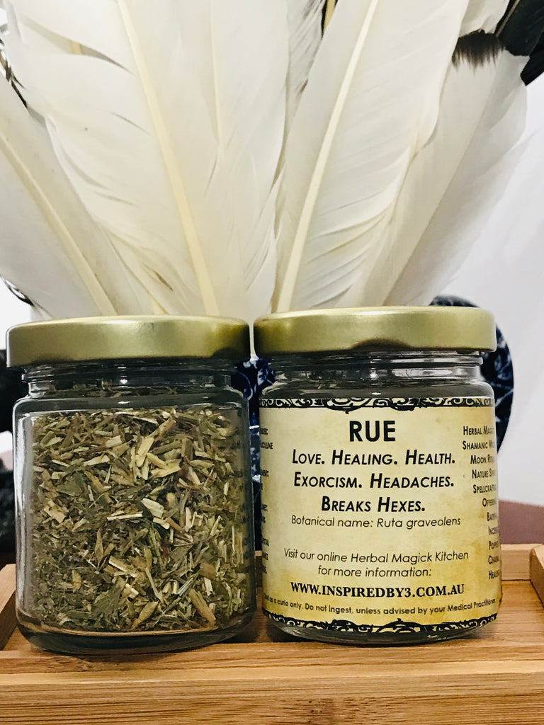 Rue - Love. Healing. Health. Exorcism. Headaches. Breaks Hexes.