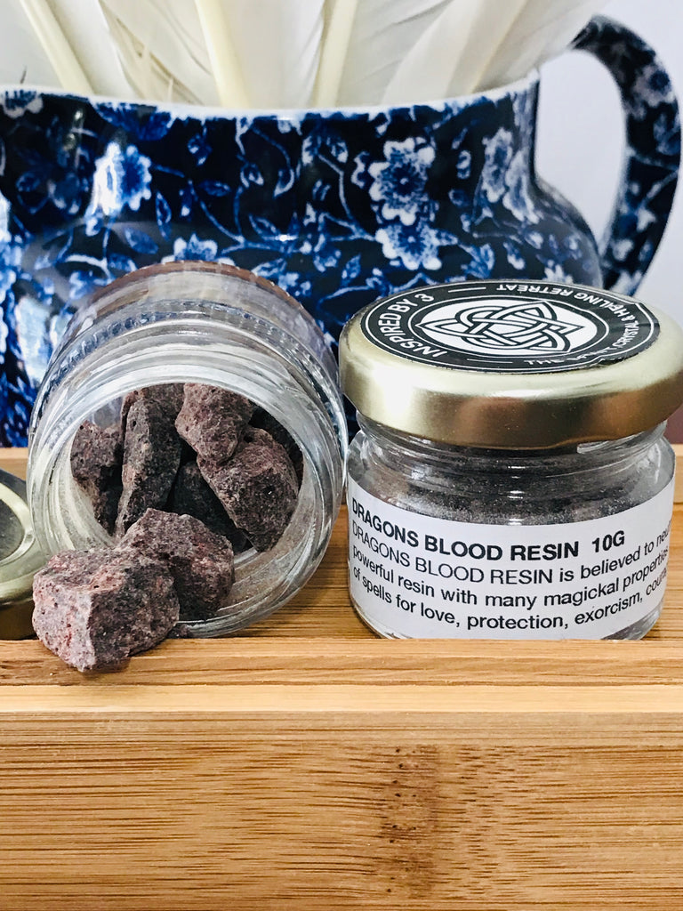 Dragons Blood Resin - Love. Protection. Exorcism. Courage. Healing