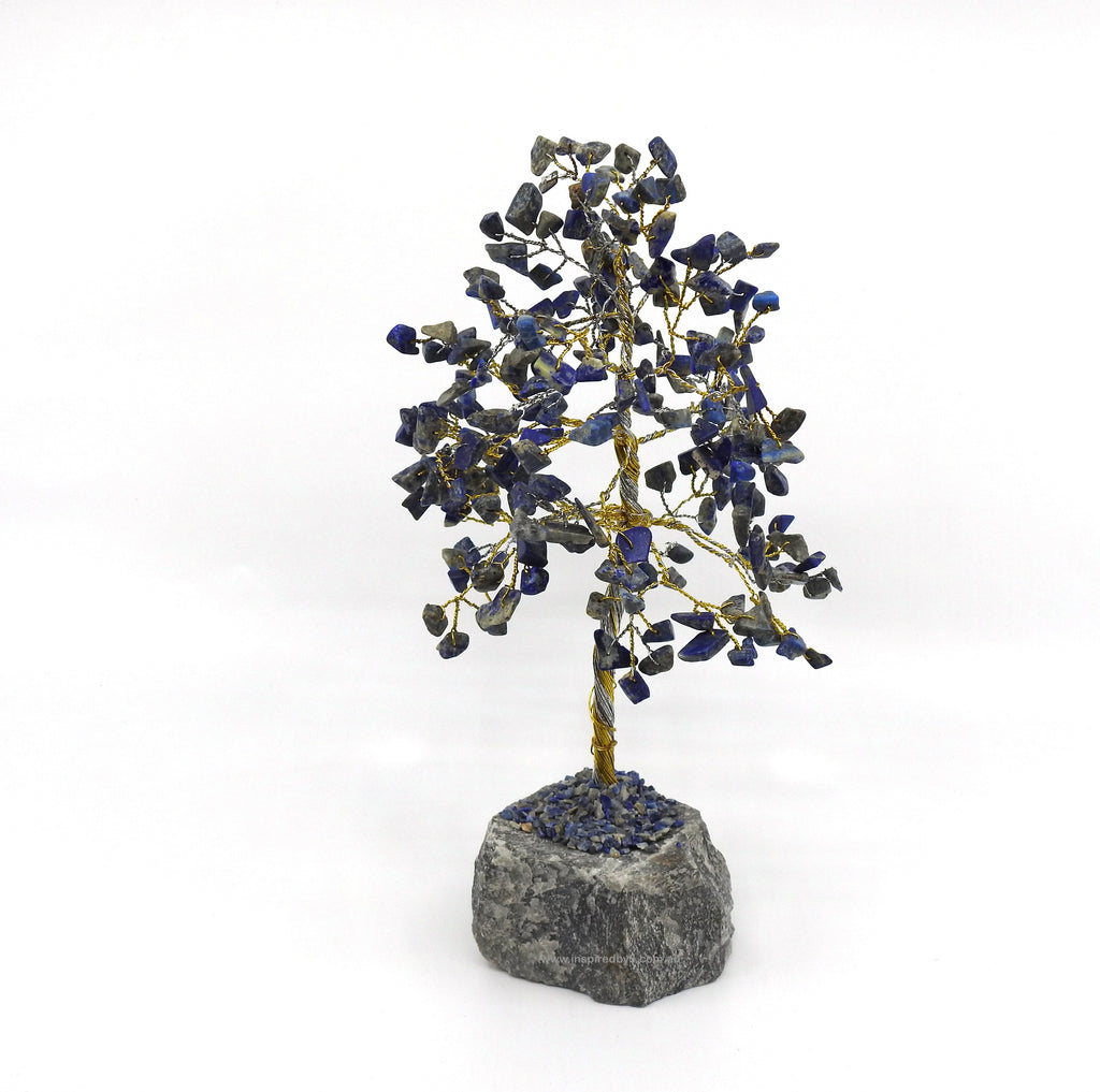 Lapis Lazuli Crystal Tree - Stress Release & Communication