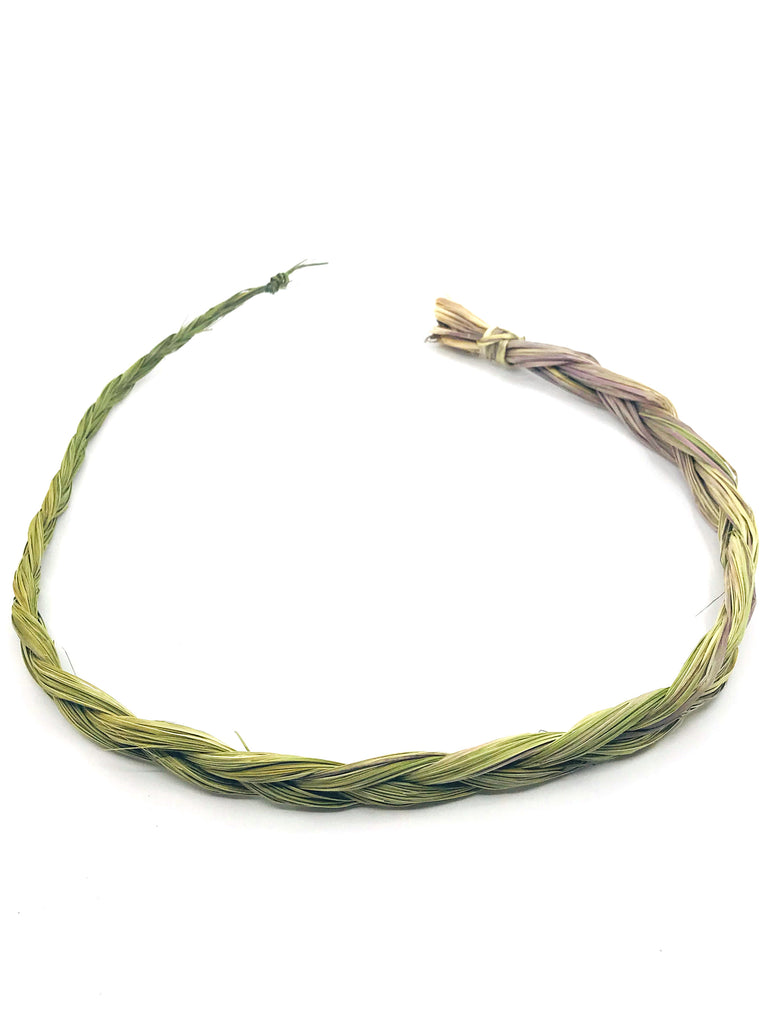 Sweetgrass Braid for Smudging - Peace. Unity. Calling Spirits.