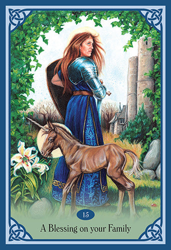 Blessed Be - Lucy Cavandish. Mystical Celtic Blessing Cards to Enrich & Empower