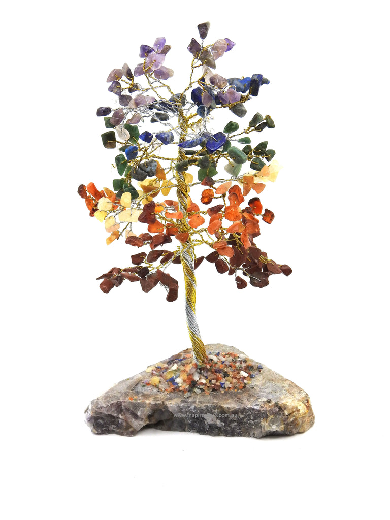 Seven Chakra Crystal Tree for Balance. Inspired By 3 Australia