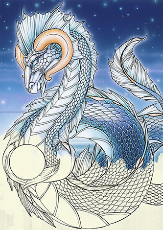 Dreams of Dragons & Dragon Kin Coloring Book Inspired By Australia