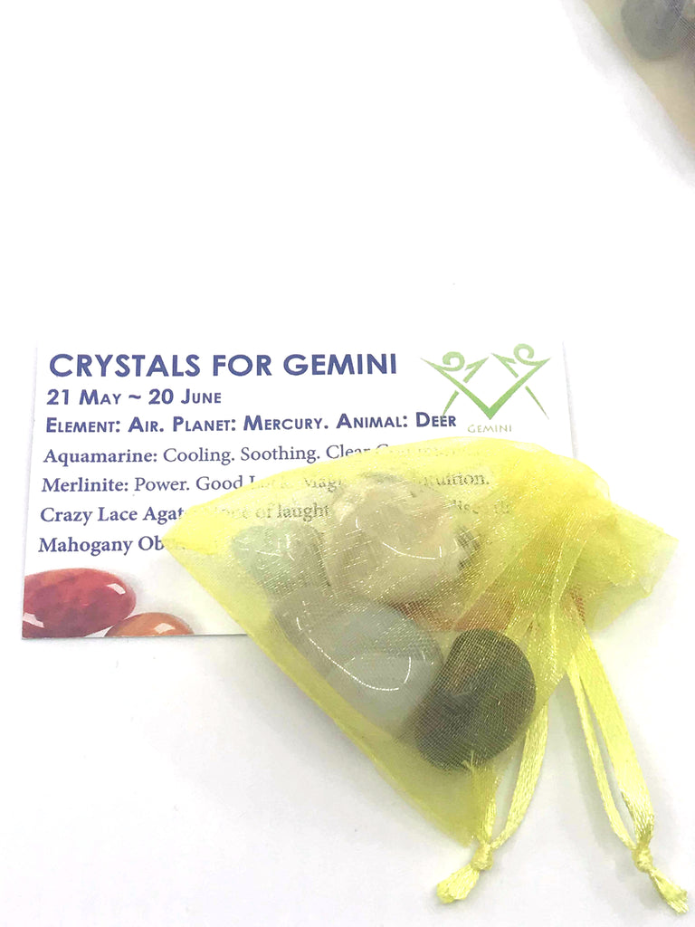 Gemini Zodiac Crystal Kit Inspired By 3 Australia