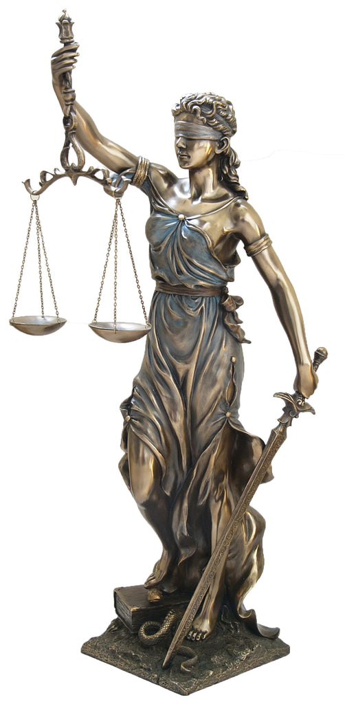 La Justica - Goddess of Justice. Extra Large Statue