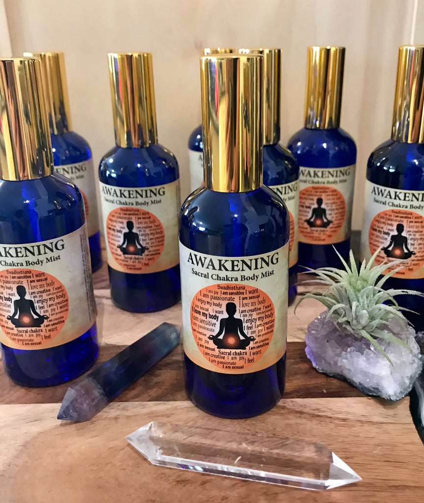 Awakening Chakra Mist with  Rose Bulgaria & Ylang Ylang Inspired By 3 Australia