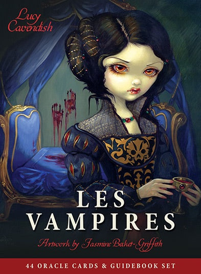 Les Vampires Lucy Cavendish Artwork by Jasmine Becket-Griffith