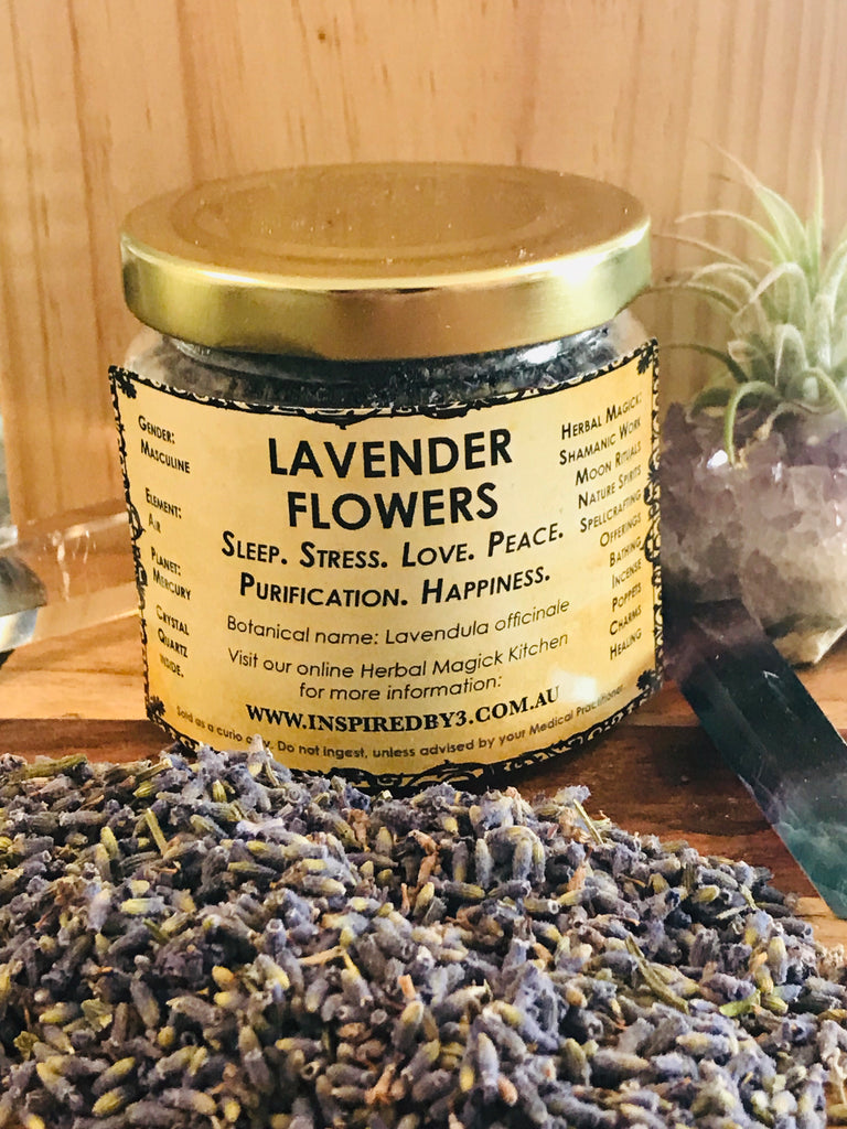 Lavender Flowers - Sleep. Stress. Love. Peace. Purification. Happiness.