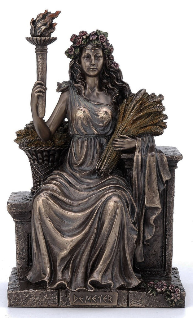 Demeter Statue Goddess of Harvest