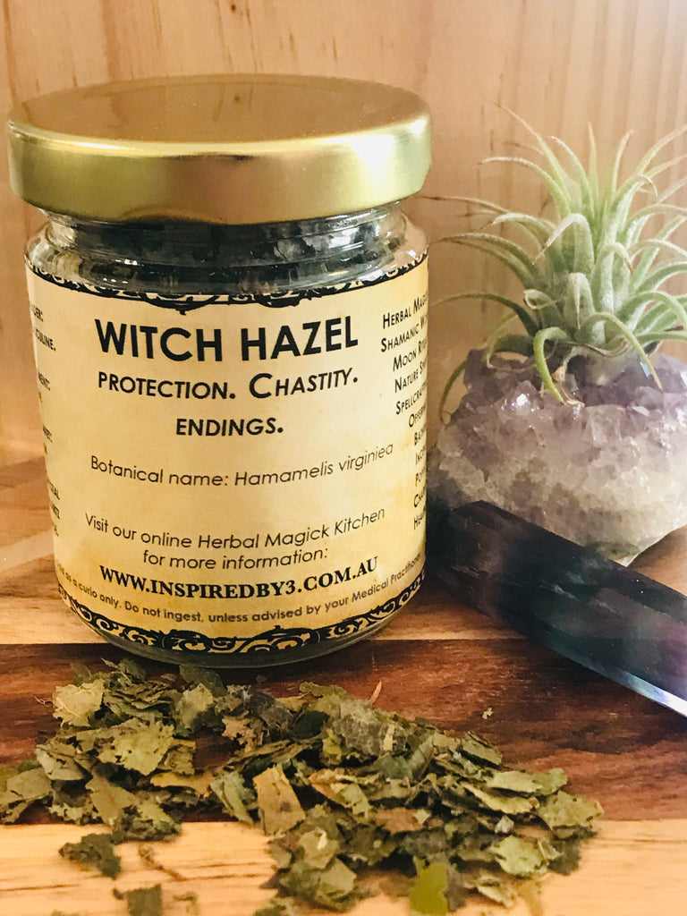 Witch Hazel 20g - Protection. Chastity. Endings.