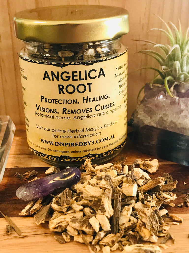 Angelica Root 20g - Visions, Protection. Healing. Removes Curses. Inspired by 3 Australia