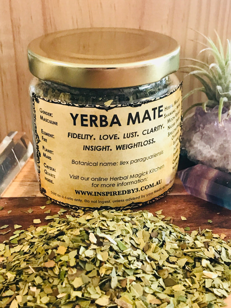 Yerba Mate 30g - Weightloss. Love. Lust. Insight.