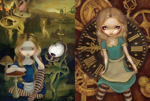 Strangeling The Art of Jasmine Becket-Griffith. Inspired By 3 Australia