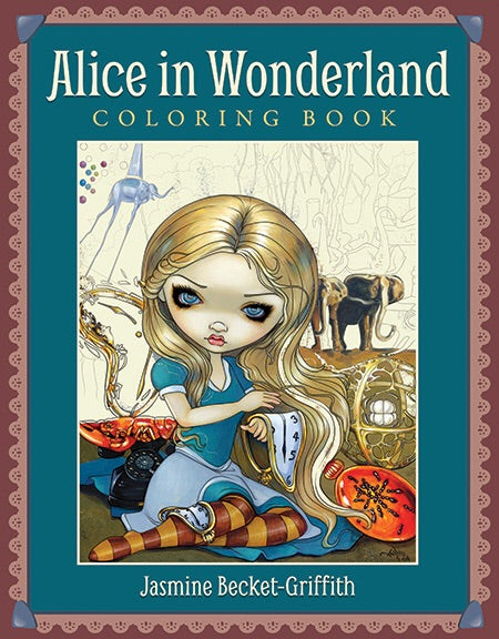Alice in Wonderland Coloring Book - Jasmine Becket-Griffith Inspired By 3 Australia