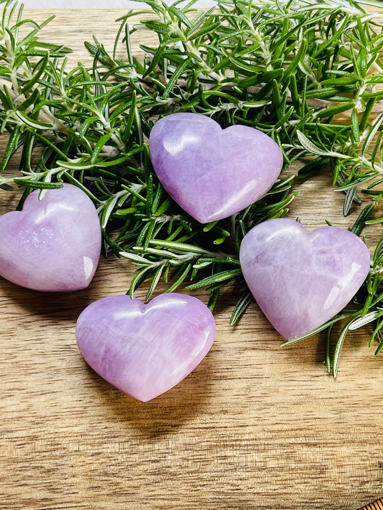 Kunzite Heart - Divine Love & Peace