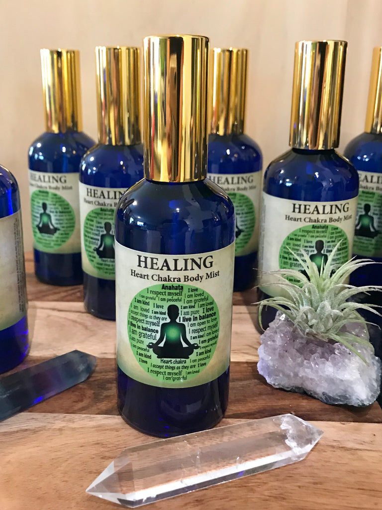Healing Chakra Spray Inspired By 3 Australia