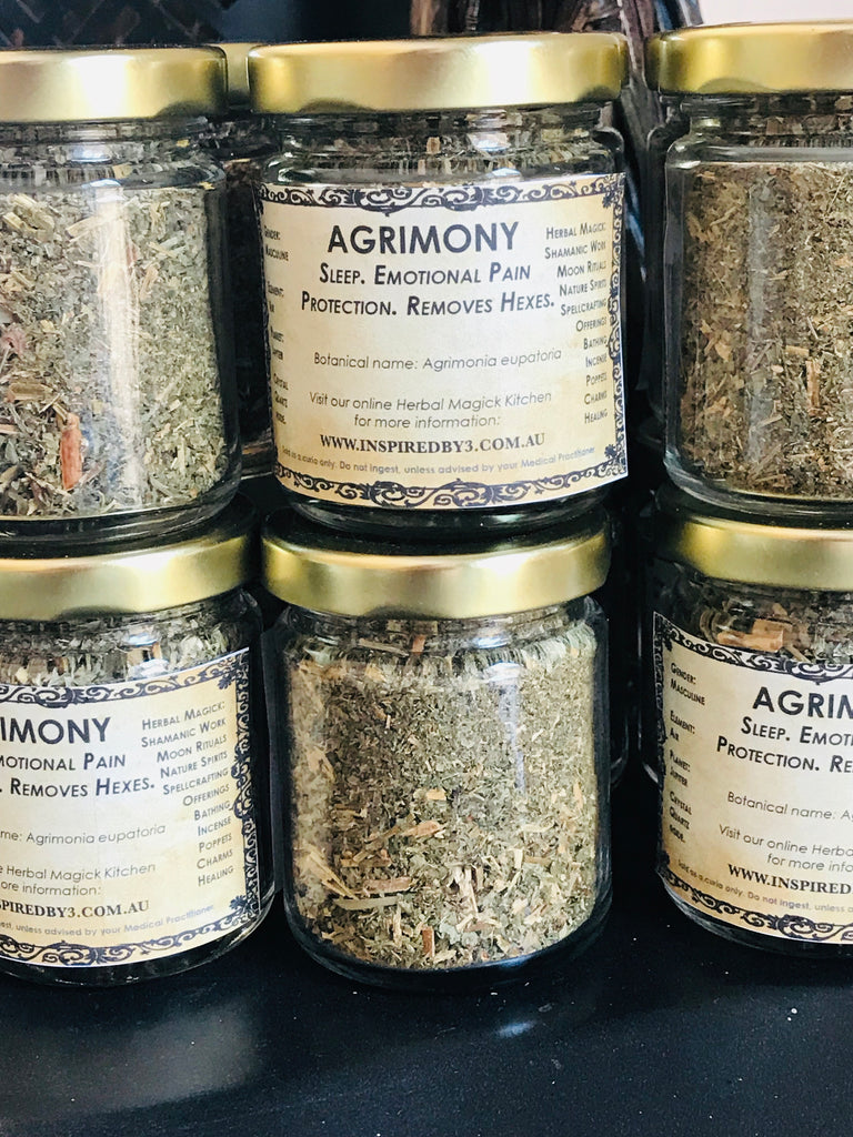 Agrimony - Remove Hexes. Helps Sleep. Inspired By 3 Australia