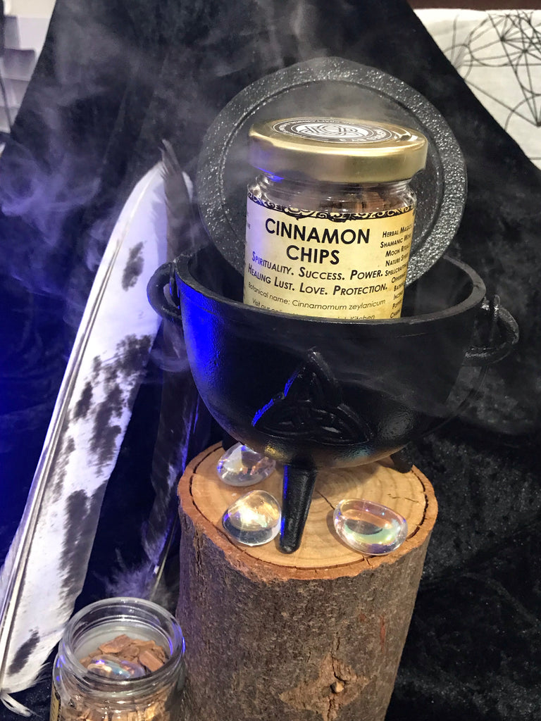 Cinnamon Chips - Spirituality. Success. Powers. Healing. Lust. Love. Protection.