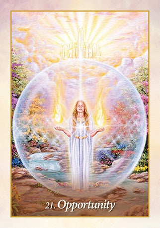 Oracle of the Angels Healing Images & Messages from the Angelic Realm - Mario Duguay