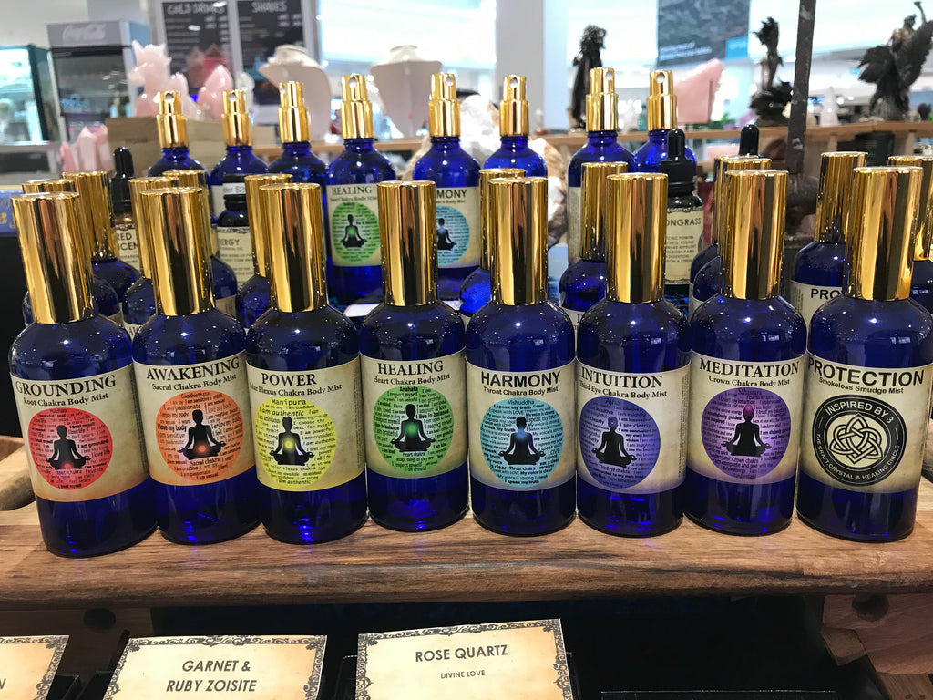 Chakra Mists Collection & Protection Smokeless Smudge