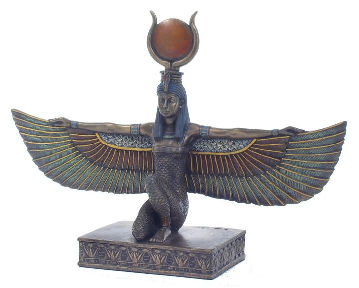 Isis Statue - Goddess of Marriage, Fertility, Magic & Medicine.