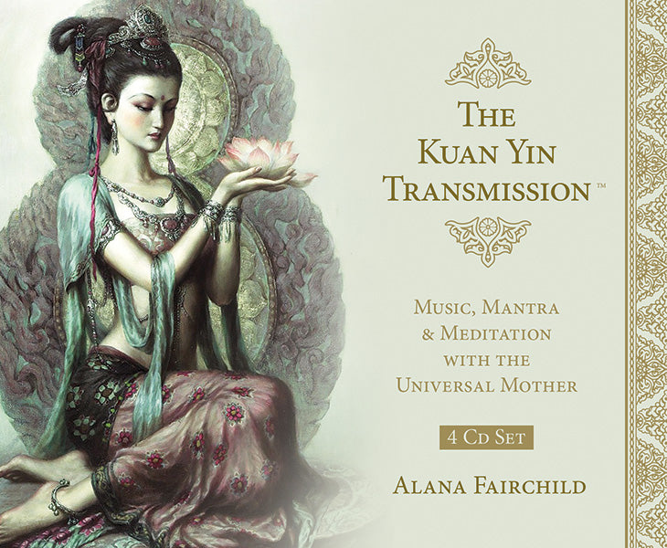 The Kuan Yin Transmission™ Music, Mantra & Meditation with the Universal Mother  4 CD SET Sold by Inspired By 3 Australia