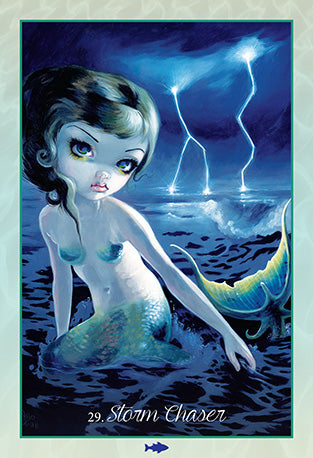 Myths & Mermaids Oracle of the Water by Jasmine Becket-Griffith