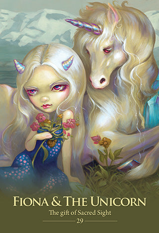 Oracle of the Shapeshifters by Lucy Cavendish & Artwork by Jasmine Becket-Griffith
