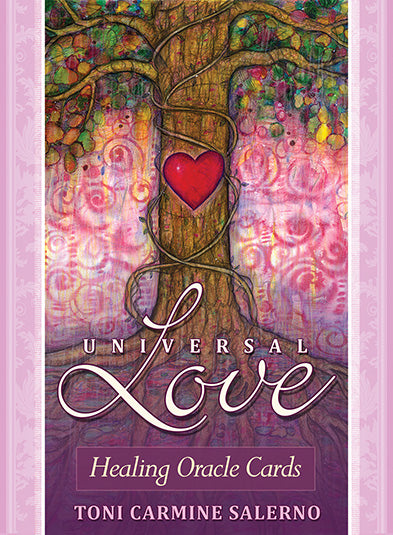Universal Love Healing Oracle Cards Toni Carmine Salerno