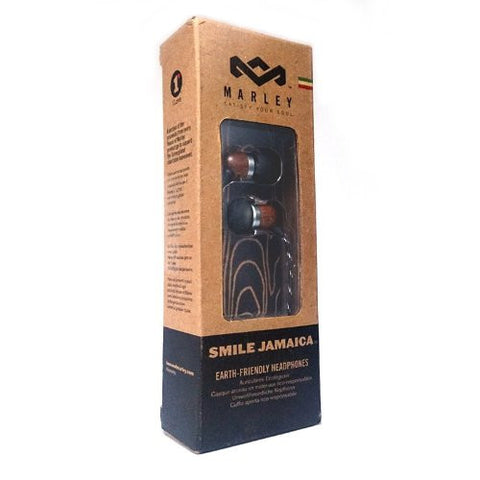 House of Marley Smile Jamaica In-Ear Headphones Midnight