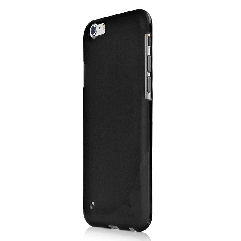 Ahha Gummi Shell Moya iPhone 6/6S Plus Case Black
