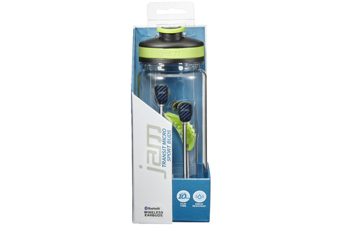 Jam Transit Micro Bluetooth Sport Buds in a Bottle
