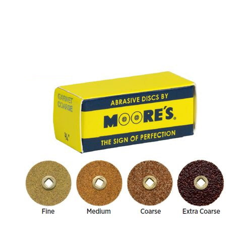 Moores Paper Clip-On Discs 22mm (7/8)